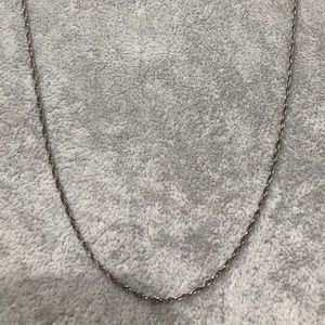"""Jewelry - Sterling Silver Necklace 24"""""""